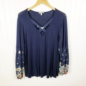 Maurice's Plus Size Floral Top